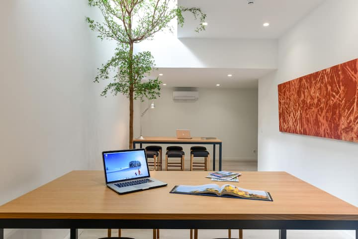 Studio em edificio de Coliving