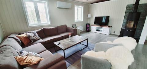 Cozy privat villa with sauna and hot tube