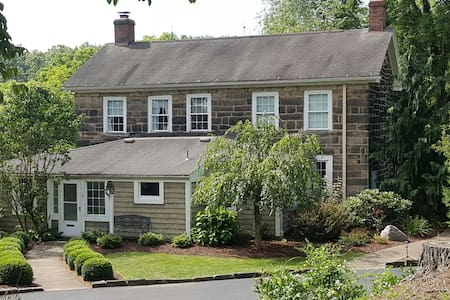 Cozy Pre-Civil War Creekside Home - New Castle - Hus