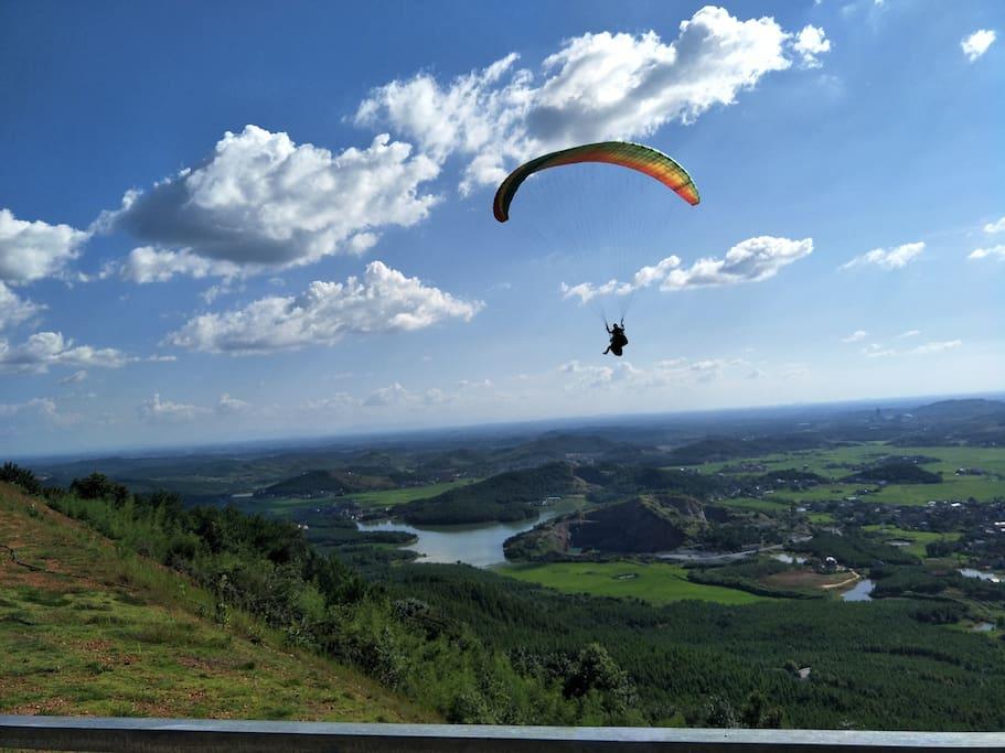 滑翔飞行体验