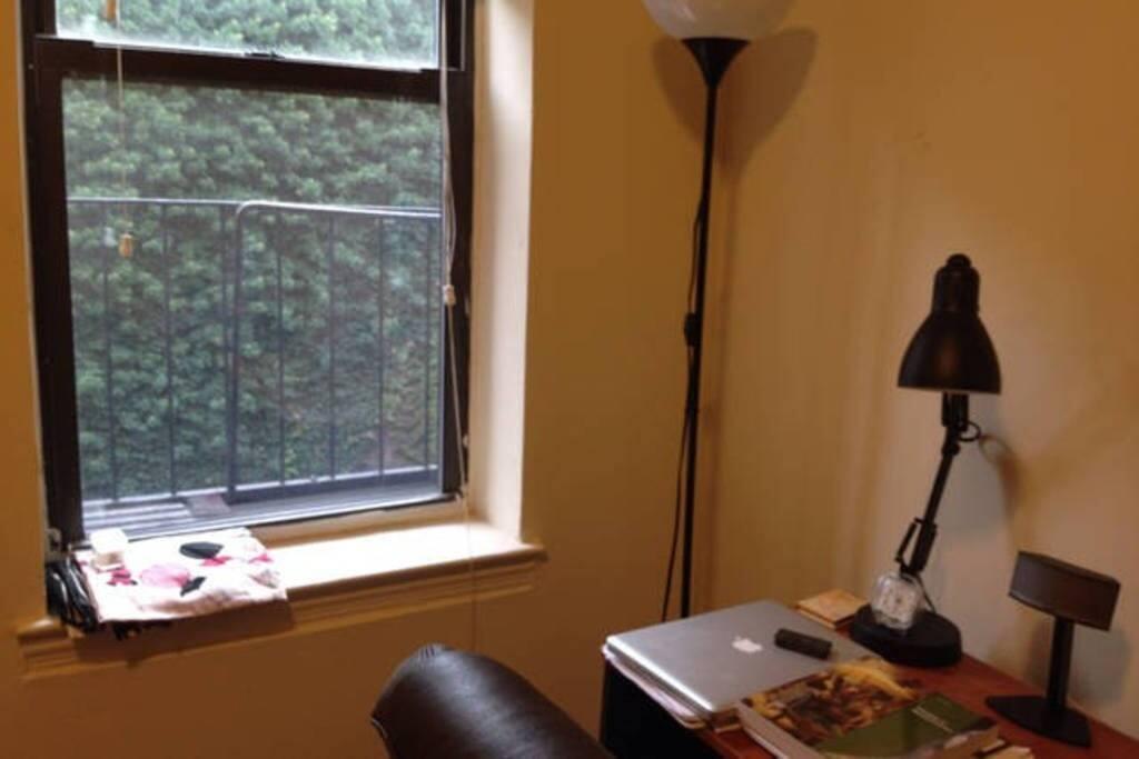 Window view from bedroom