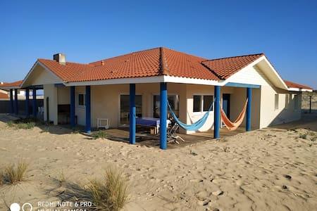 Maison en bord de mer