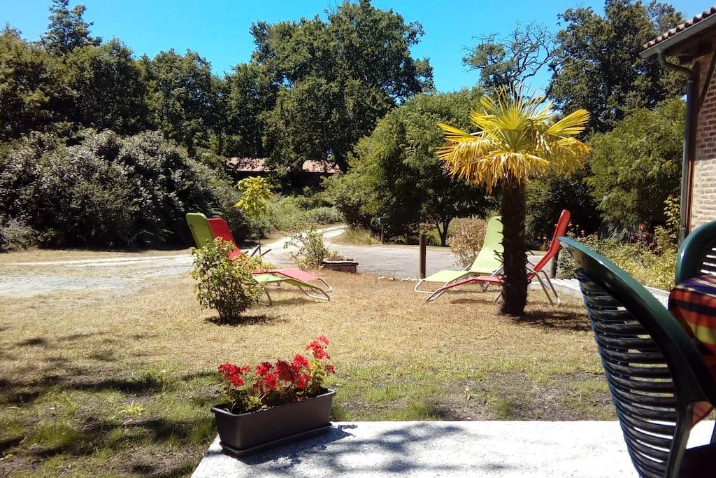 Jardin au calme, exposé Sud