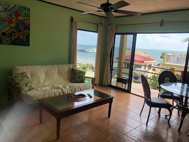 Beach Side Condo at The CLUB Caye Caulker