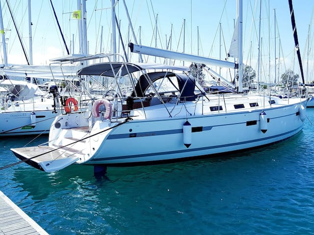 Sleep on a  sailing yacht in Kavala Marina