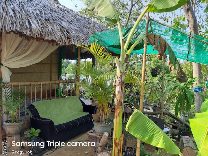 A Nipa Hut and experience the real life of filiPno