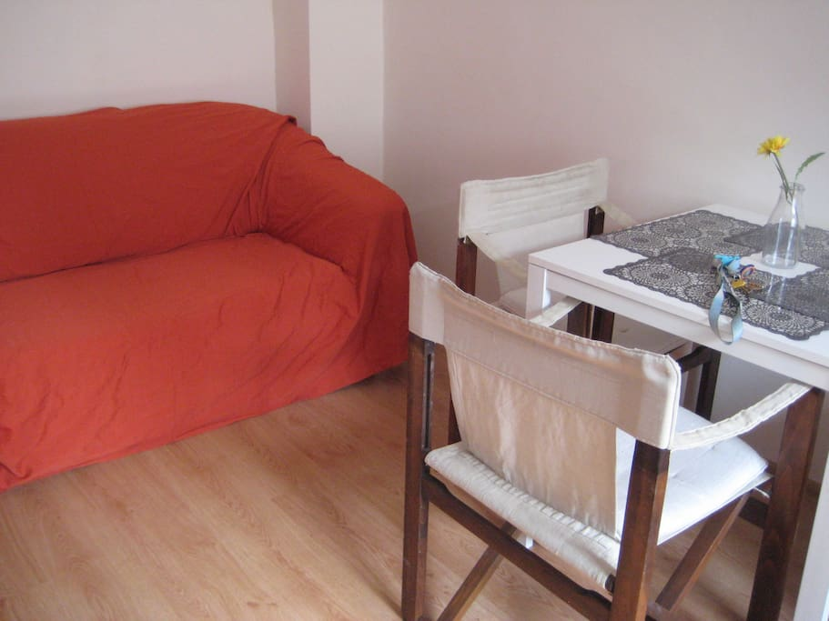 Additional sofa in bigger room