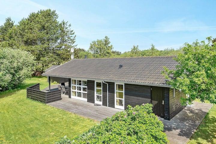 Jolie maison de vacances dans le Jutland avec sauna