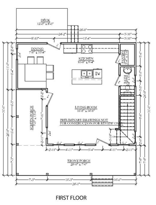1st Floor, Floor Plan