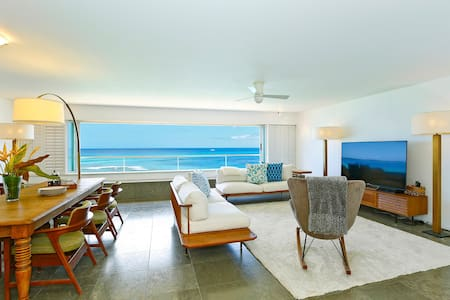 Oceanfront on Oahu's Gold Coast! CS604