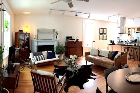 Mid Century Modern Flat in CWE by the Basilica - St. Louis - Wohnung