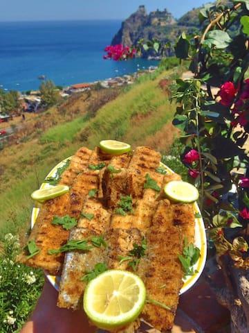 Fresh fish as daily food