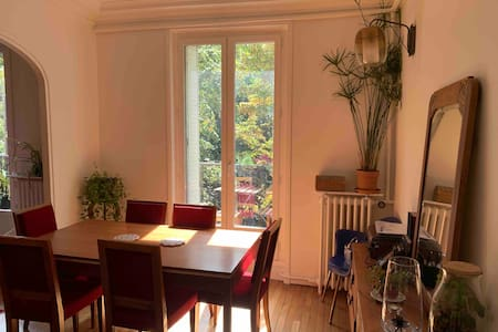 Lovely and bright flat near the Père Lachaise