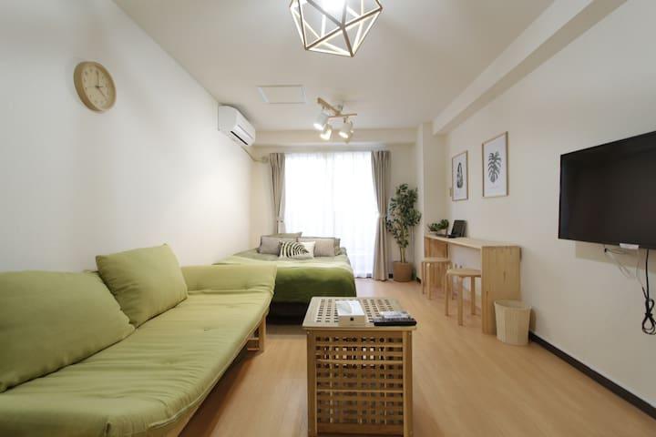 #新宿GREEN-house绿屋&FREE-WIFI