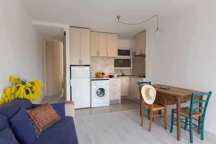 Acogedor apartamento en el centro de Llançà - Llançà - Pis