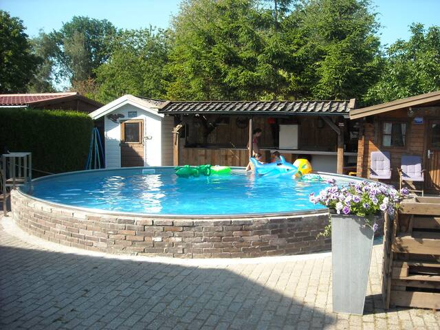 Appartement near Amsterdam with swimmingpool - Zuidoostbeemster