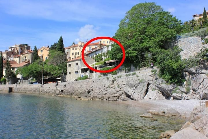One bedroom apartment with terrace and sea view Opatija - Volosko, Opatija (A-7862-a) - Opatija - Lägenhet