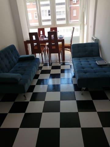 Habitación en piso