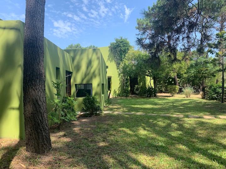 Casa compartida en el bosque de La Paloma!