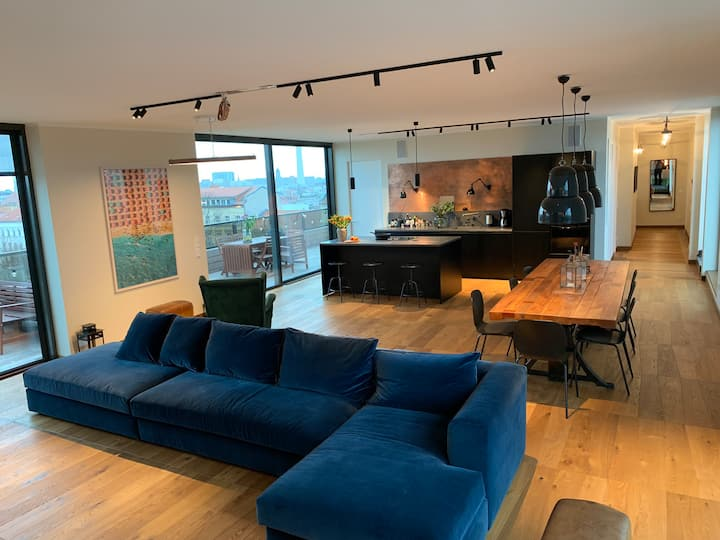 Penthouse in Prenzlauerberg with amazing views!