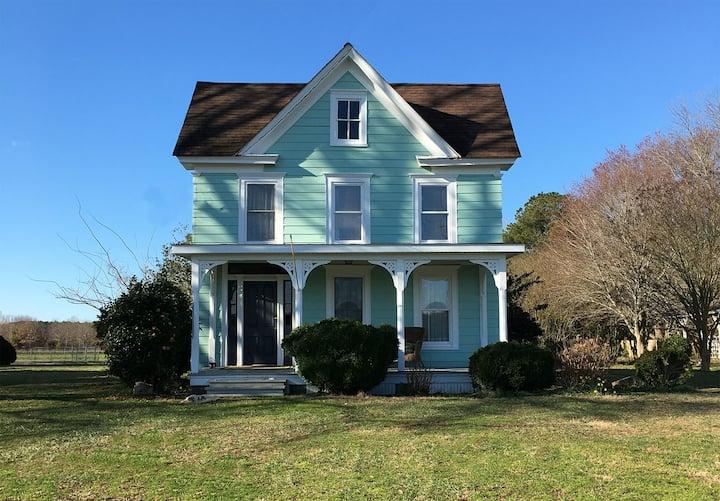 Locustville Retreat, Eastern Shore of Virginia