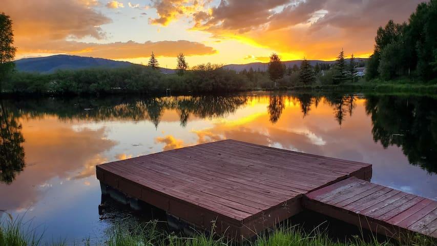 Riverfront Cabin   Summer Paradise