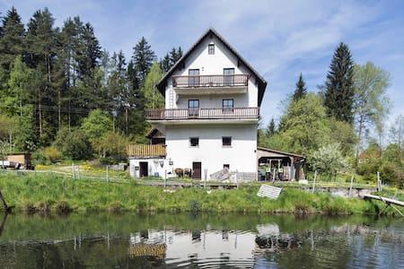 Alluring Apartment in Schönsee with Garden
