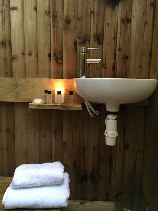 Our ensuite bathrooms feature hot water shower, hot and cold running water and an eco-friendly toilet