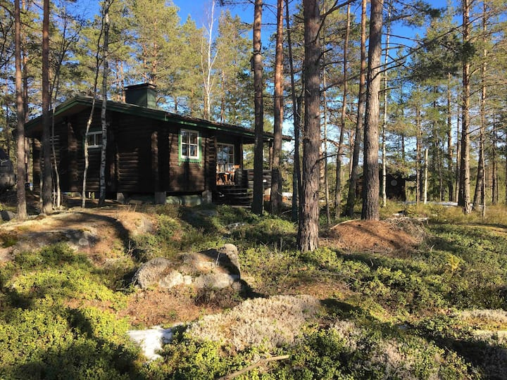 Kemiönsaari forest cottage