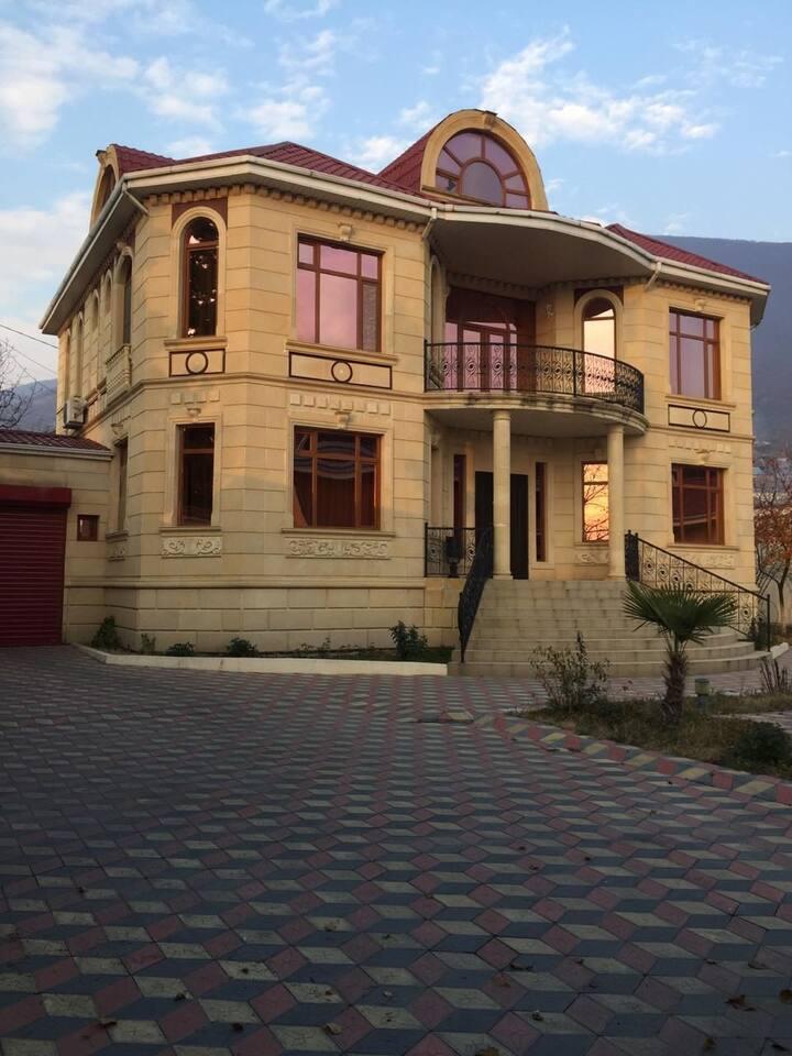 Luxury villa in the center of Sheki/Azerbaijan