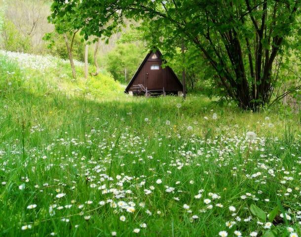 Kis bungaló a siroki vár lábánál. - Sirok