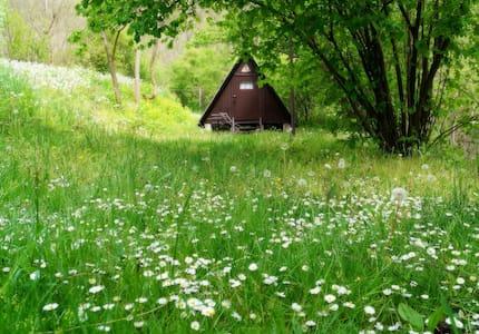 Kis bungaló a siroki vár lábánál. - Sirok - Bungalow