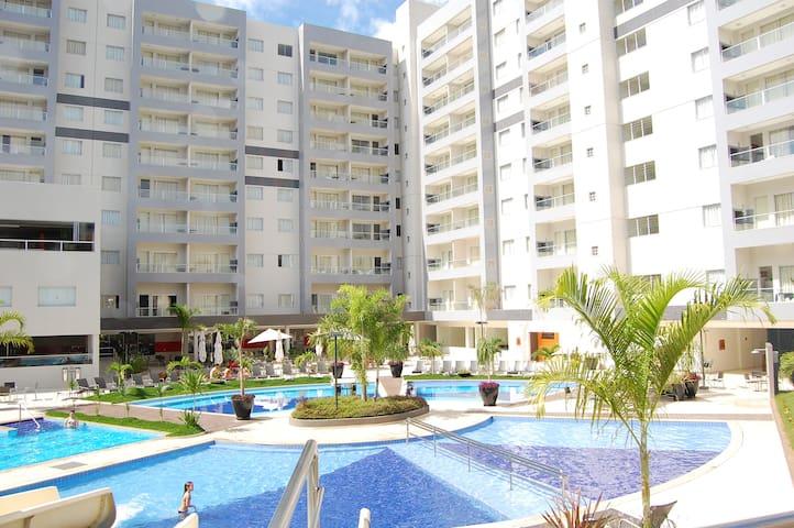 Flat Veredas do Rio Quente - Goiás - 350m HotPark