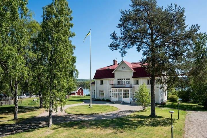 Prästgården Revsund with beautiful lake view