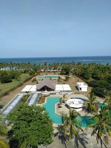 Golden Sand Resort, Beachfront Studio Apartment