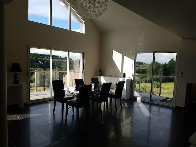 Belle grande maison neuve - Moyenmoutier, Alsace-Champagne-Ardenne-Lorraine, FR - Rumah