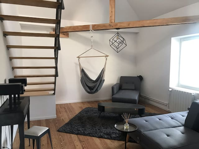 Nice and modern 50m2 loft close to Central Station