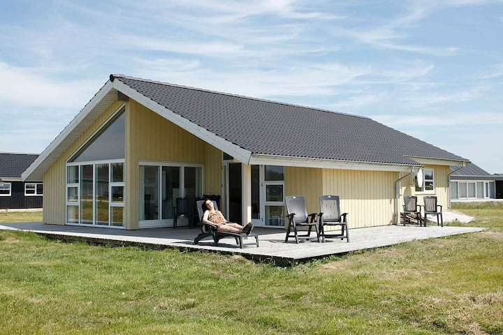 Spacious Holiday Home in Brovst with Sauna