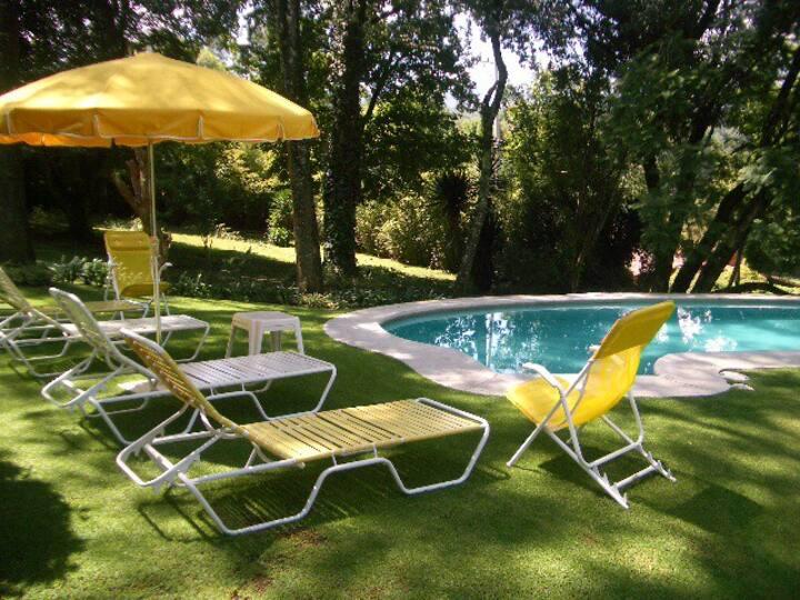 Casa en Avandaro, vista espectacular y acogedora