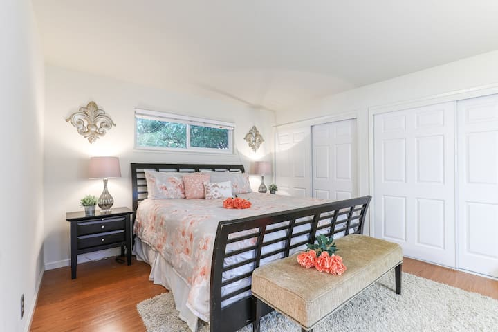 Master Bedroom Suite in Downtown MV (R)
