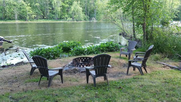 Enchanting Riverfront Cottage