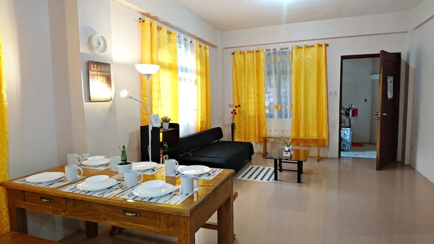 PARB: 2-Bedroom Apartment (with aircon)