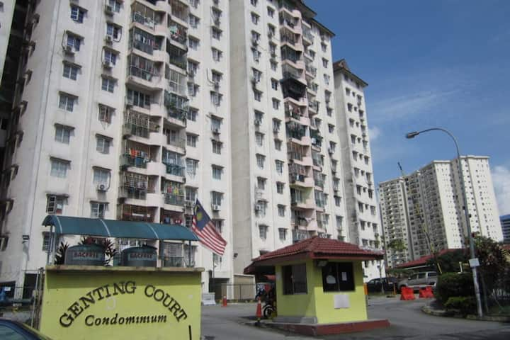 2.Roomstay at Genting Court Condo Kuala Lumpur