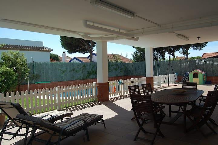 House 200m to the beach Mazagón