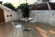 2nd floor - relax enjoy the morning sun