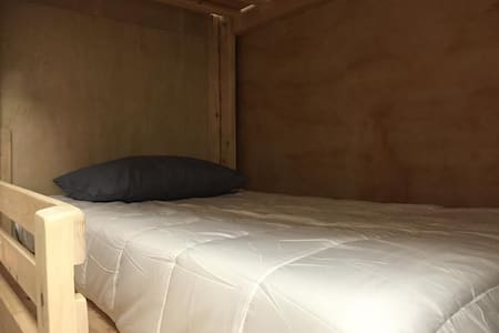 Downtown LA Single Cube Bed Comfortable Mattress - Los Angeles
