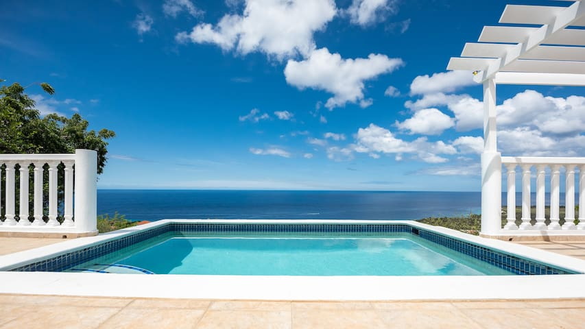 Villa Natalya with an absolutely stunning view