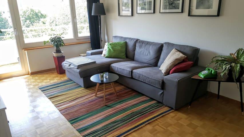 Lovely furnished apartment in quiet area - Zurique - Apartamento