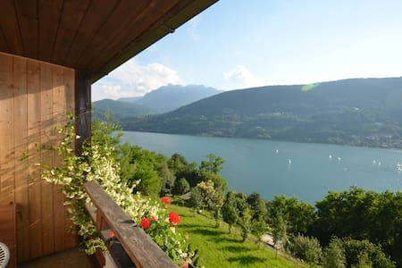 "Apartment ""Margherita"" panoramic lake view - Tenna"