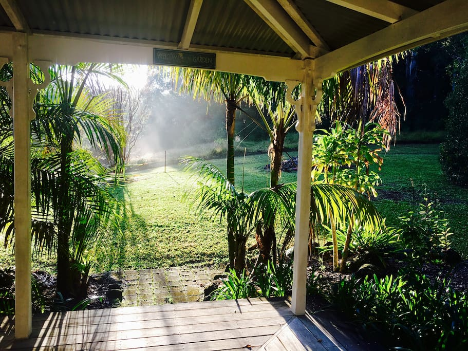 sunrise back verandah